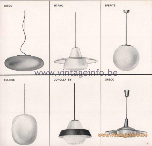 Greco Illuminazione 1965 Catalogue - page 21