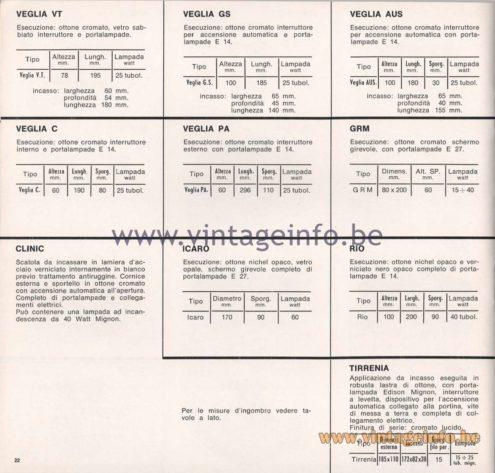 Greco Illuminazione 1965 Catalogue - page 24