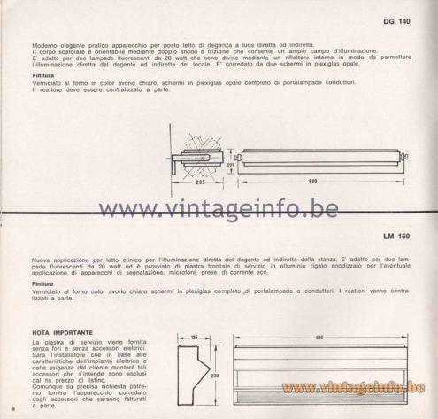 Greco Illuminazione 1965 Catalogue - page 8