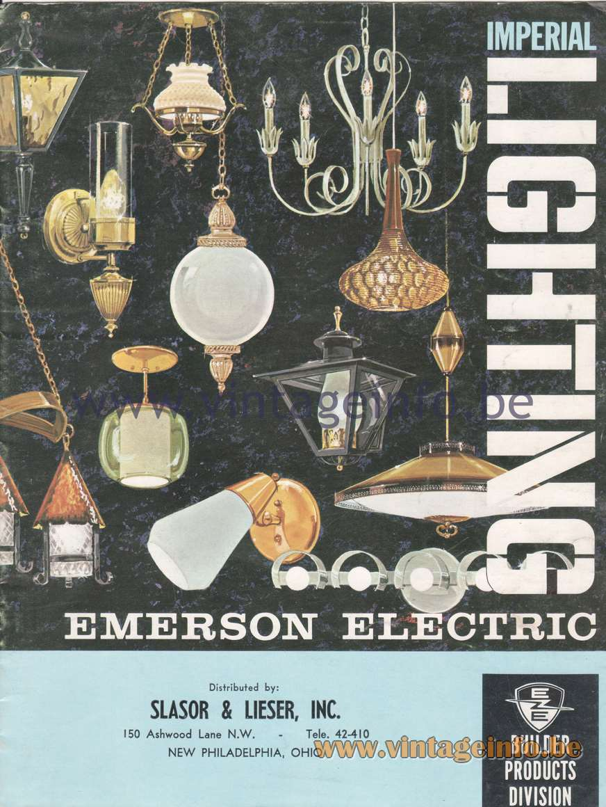 Imperial Lighting - Emerson Electric - 1965 Catalogue - page 1
