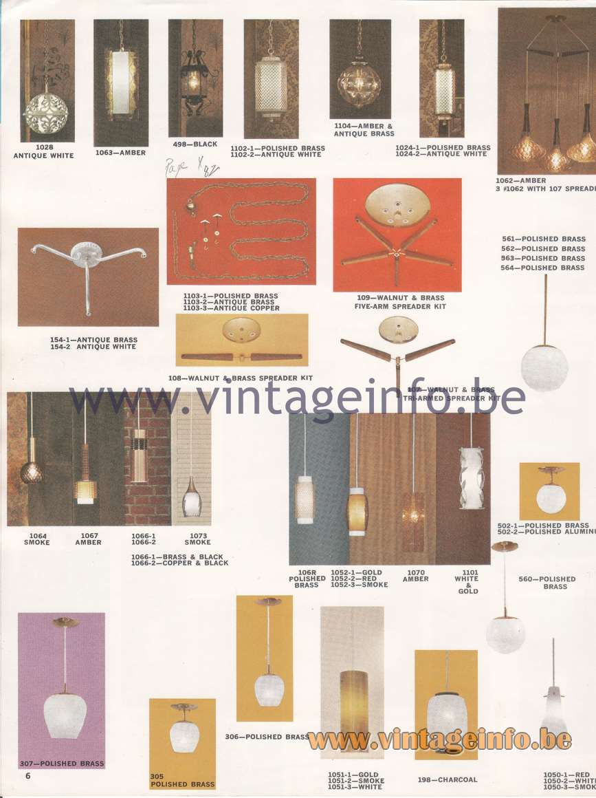 Imperial Lighting - Emerson Electric - 1965 Catalogue - page 6