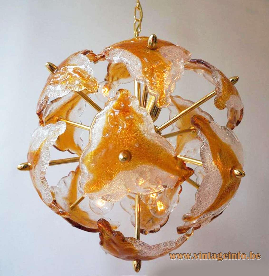 Murano Sputnik Chandelier