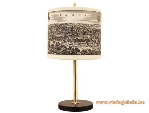 Parys, Paris Table lamp