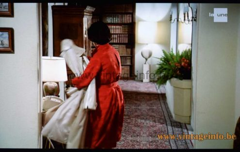 Philippe Barbier floor lamp used as a prop in the 1977 film Nous Irons Tous Au Paradis