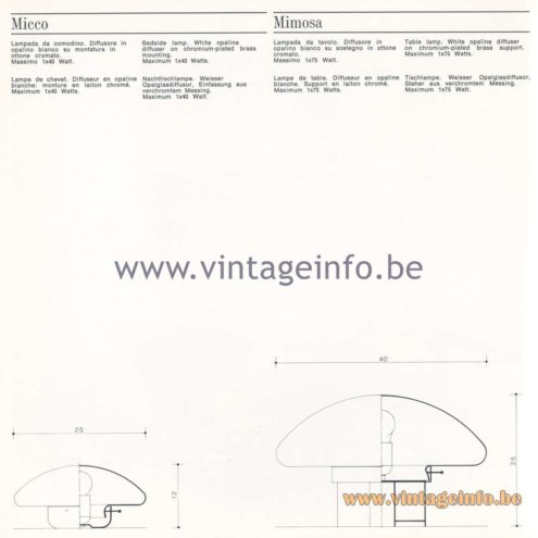 Quattrifolio Design Catalogue 1973
