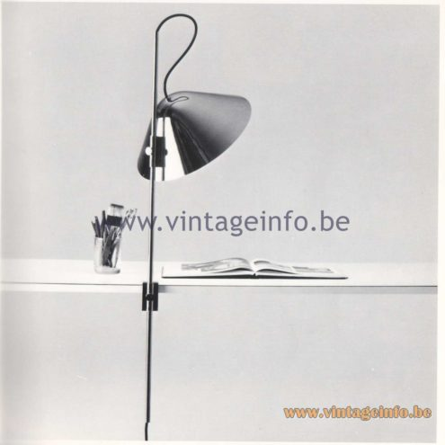 Quattrifolio Design Catalogue 1973 – Seneca desk lamps