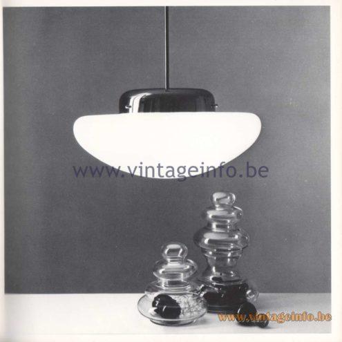Quattrifolio Design Catalogue 1973 - Apollonia pendant lamp