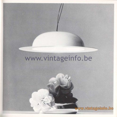 Quattrifolio Design Catalogue 1973 - Torloniapendant lamp