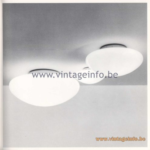 Quattrifolio Design Catalogue 1973 - Boccio flush mount