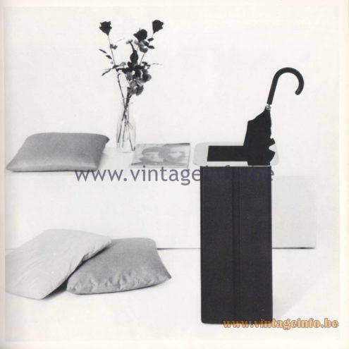 Quattrifolio Design Catalogue 1973 - Torquato Umbrella stand