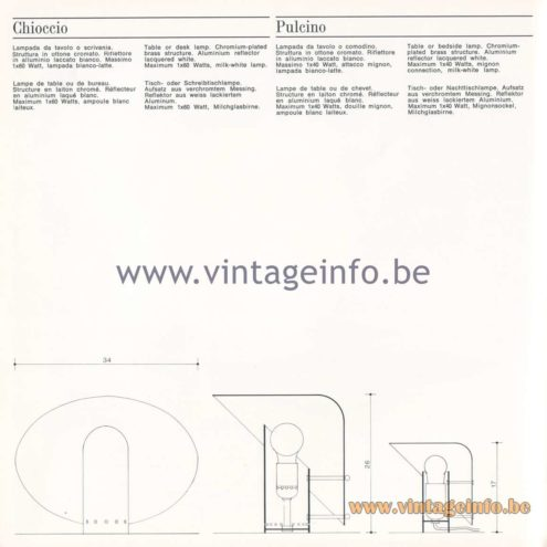 Quattrifolio Design Catalogue 1973