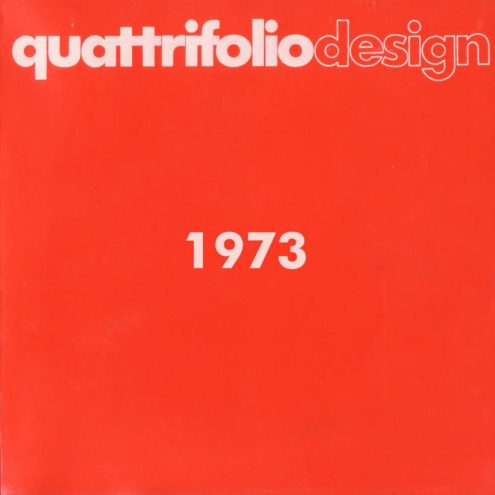 Quattrifolio Design Catalogue 1973 - Cover