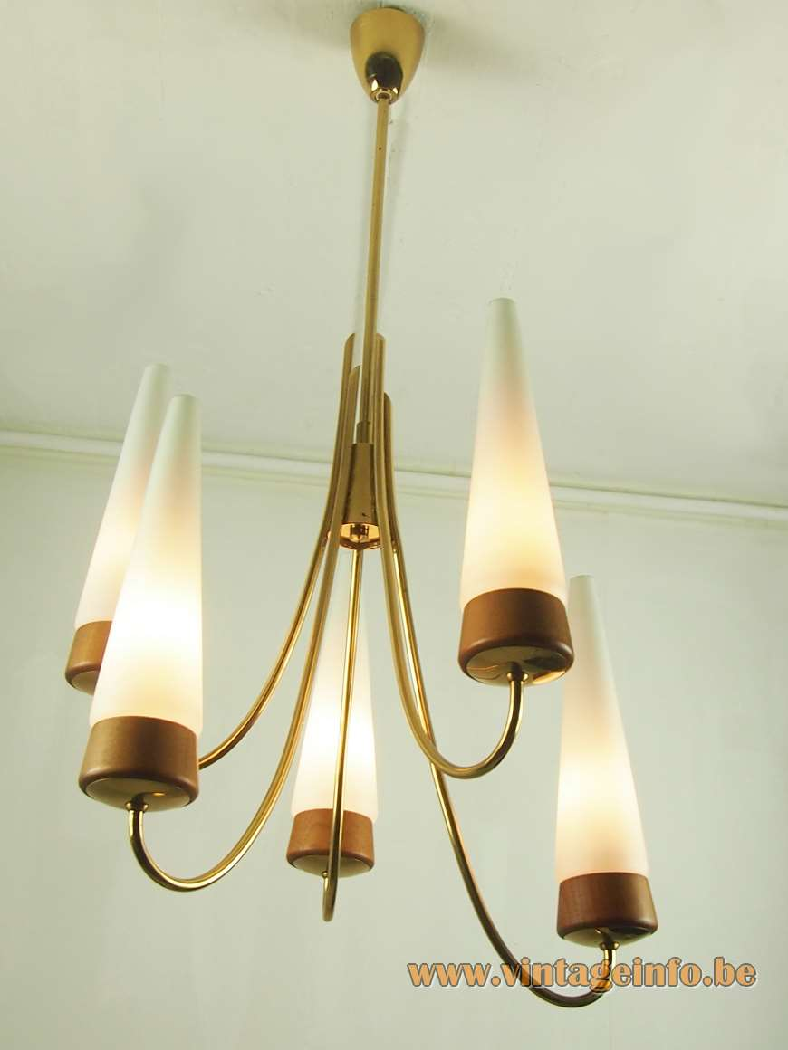 Rupert Nikoll Conical Chandelier