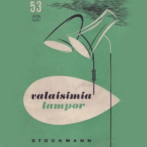Stockmann Orno 1951 Lighting Catalogue