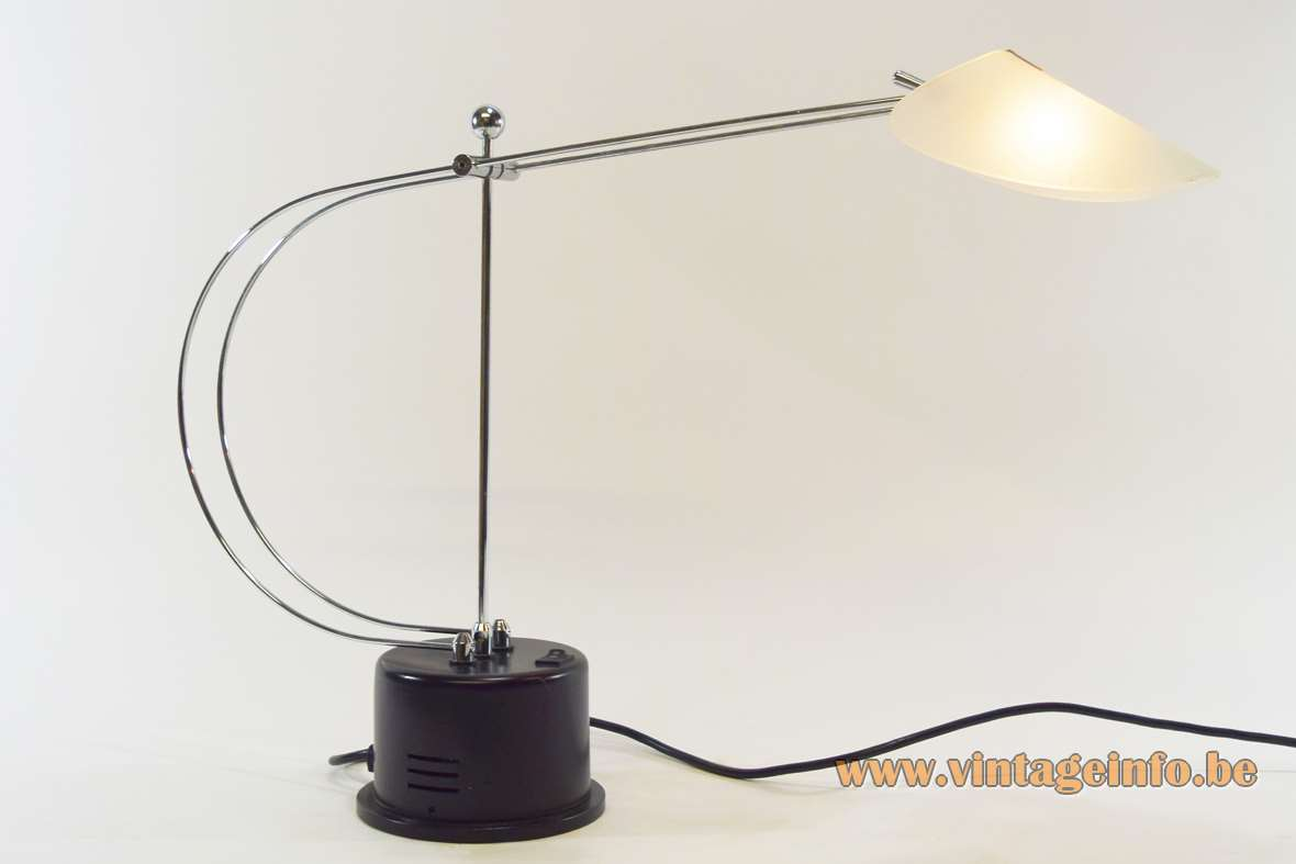 1980s Chrome 12 Volt Desk Lamp