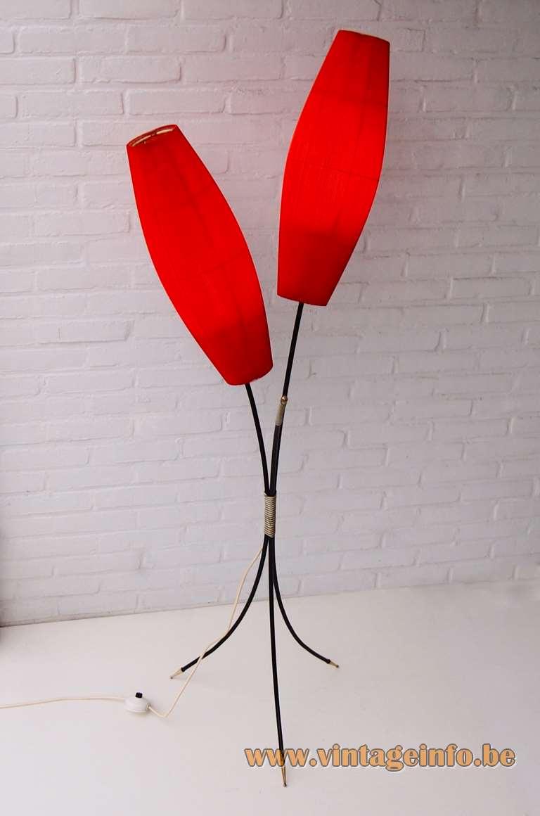 Aro Leuchte Tripod Celluloid Floor Lamp