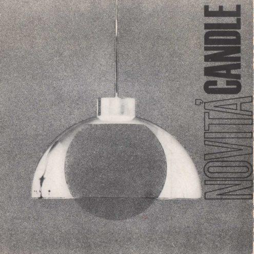 Candle 1970s Novita Lighting Catalogue - Vintage Pendant Lamps, Floor Lamps, Table Lamps, Desk Lamps Chandeliers, Wall Lamps