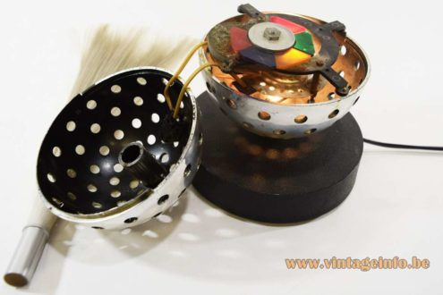 Cima Fiber Optic Globe Table Lamp - parts