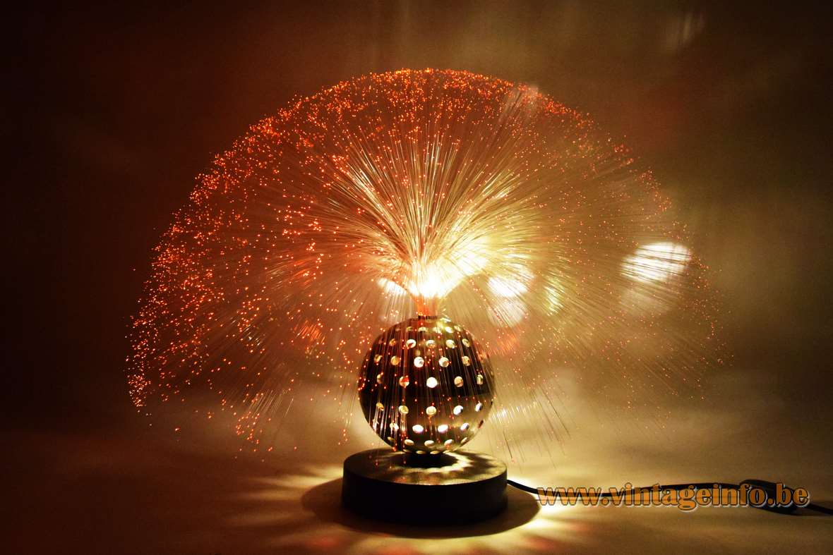 Cima Fibre Optic Globe Table Lamp Vintageinfo All About Vintage Lighting