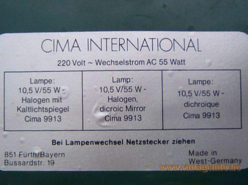Cima Fibre Optic Globe Table Lamp - model 9913