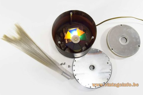 Cima Fibre Optic Table Lamp - Parts