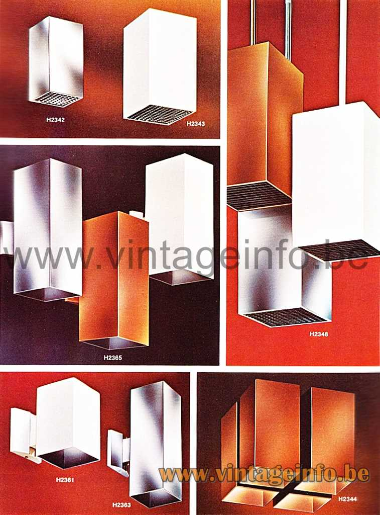 Halo Lighting Catalogue, Qaudrille Flush Mount and Wall Lamps