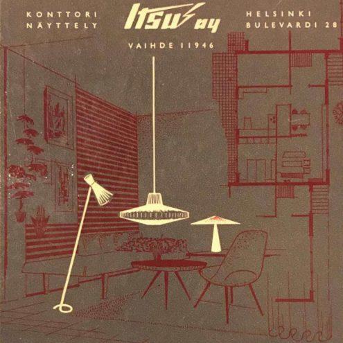 Itsu Oy 1956 Lighting Catalogue