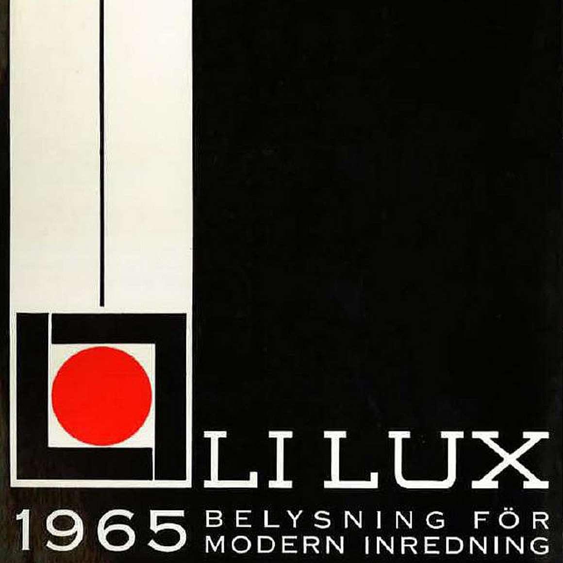 Lilux 1965 Lighting Catalogue