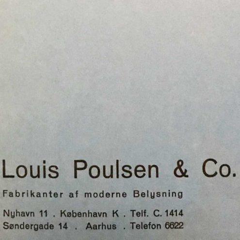 Louis Poulsen & Co 1930s Catalogue