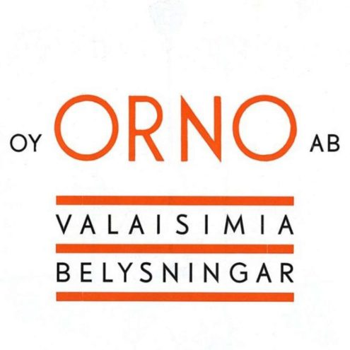 Orno 1930s Lighting Catalogue