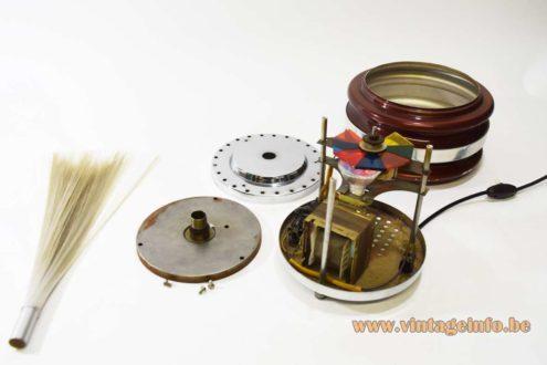 Rotating Fiber Optic Table Lamp - In parts