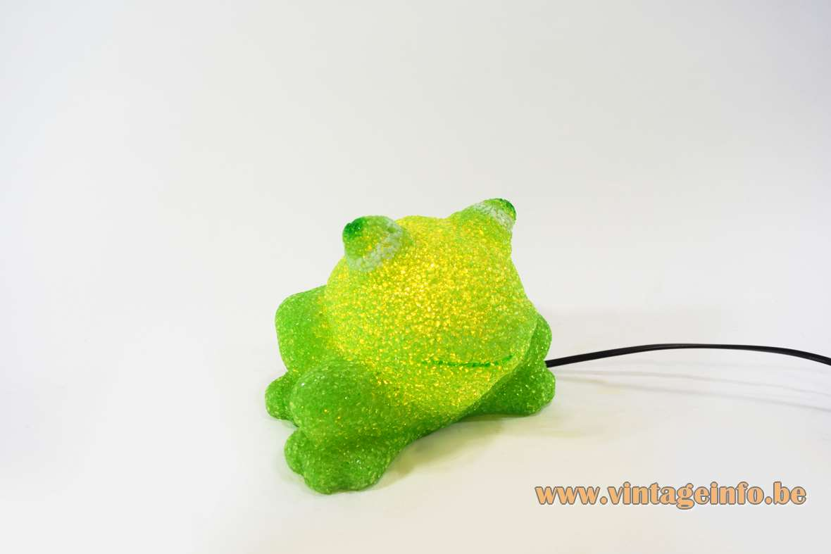 Rubber Frog Table Lamp