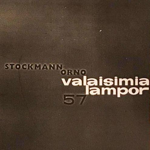 Stockmann Orno 1957 Lighting Catalogue