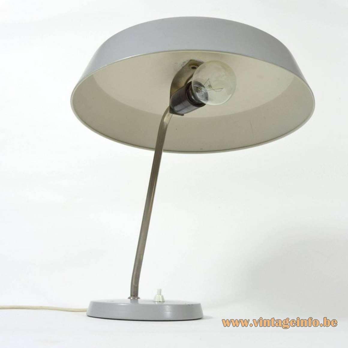 1960s Louis Kalff Style Desk Lamp