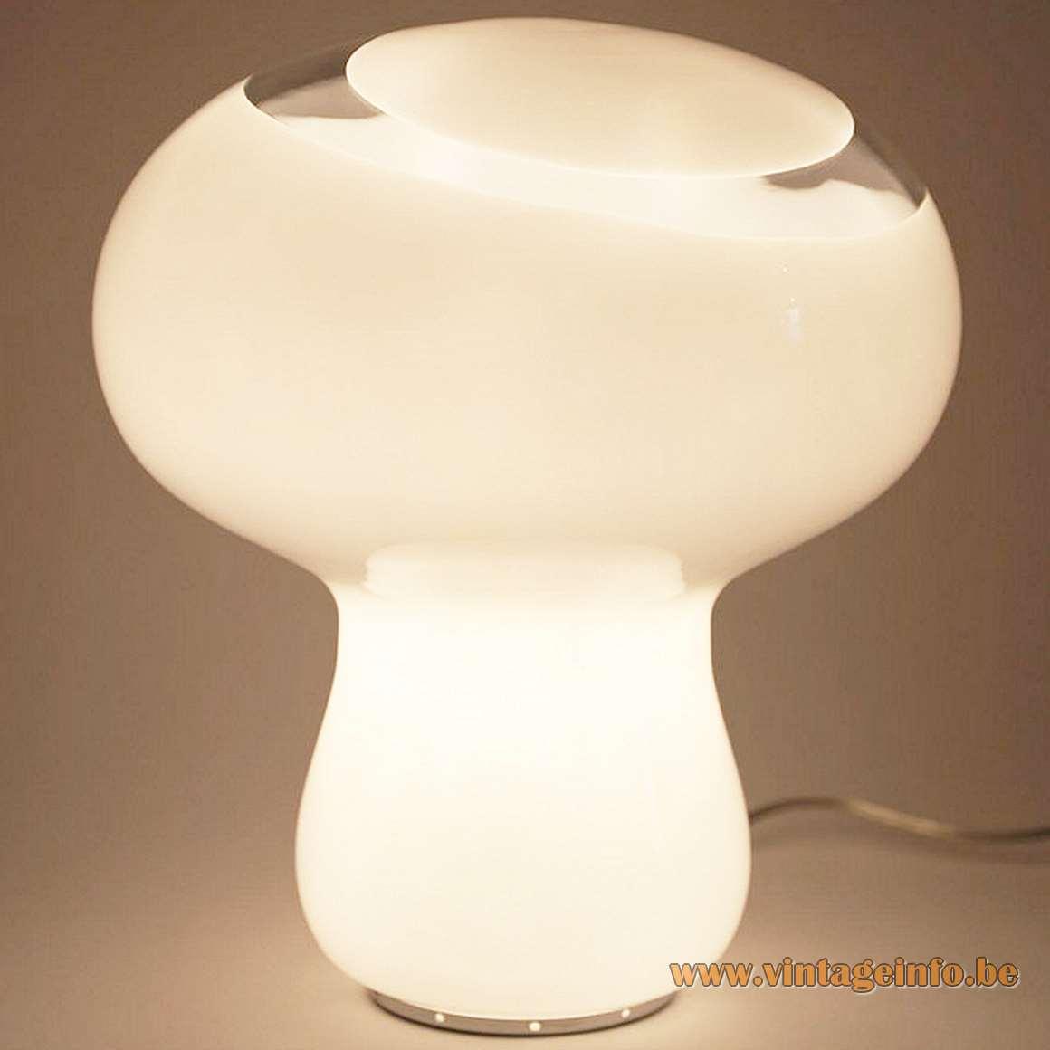 AV Mazzega Small Mushroom Table Lamp