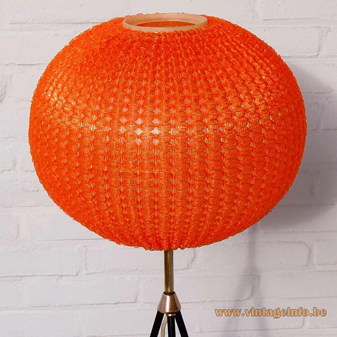 Aro Leuchte Tripod Globe Floor Lamp - Celluloid lampshade