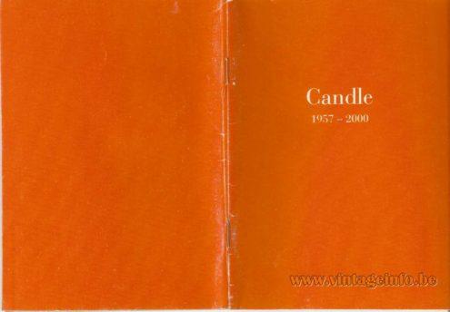 Fontana Arte – Candle 1957 – 2000 – cover