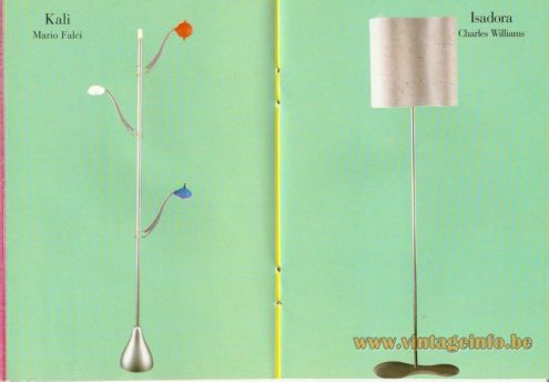 Kali Floor Lamp – Mario Falci - Isadora Floor Lamp – Charles Williams