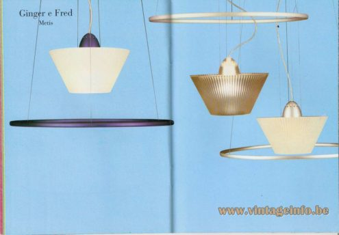 Ginger and Fred Pendant Lamp – Metis