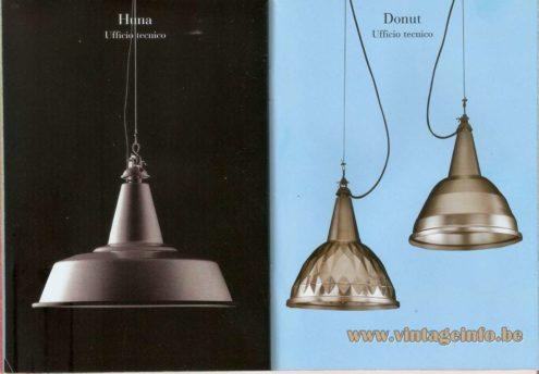 Huna Pendant Lamp (1965) - Donut Pendant Lamp - Ufficio Tecnico (FontanaArte Design Lab)