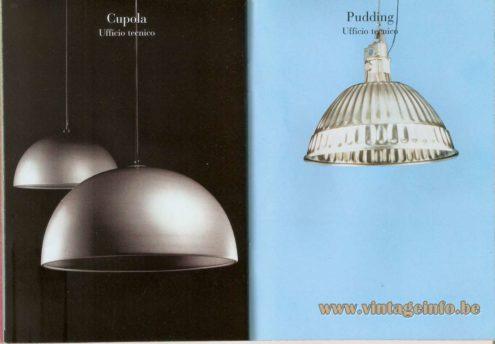 Cupola Pendant Lamp (1979) - Pudding Pendant Lamp (1995) – Ufficio Tecnico (FontanaArte Design Lab)
