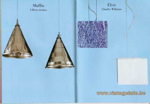 Muffin Pendant Lamp – Ufficio Tecnico - Elvis Suspension Lamp (1998) – Charles Williams
