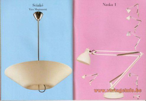 Sciaké Suspension Lamp – Vico Magistretti - Naska 1 (1933) architect lamp