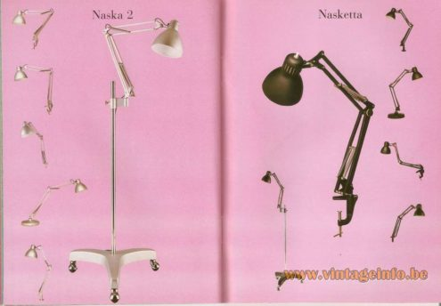 Naska 2 and Nasketta (1933) architect lamps