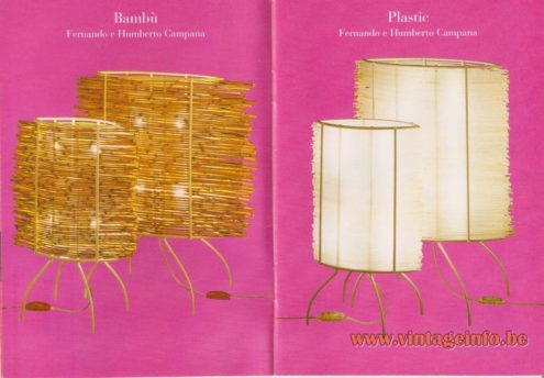 Bambù Table Lamp (2000) – Fernando and Humberto Campana