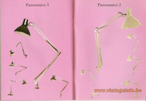 Panoramica 1 and Panoramica 2 architect lamps