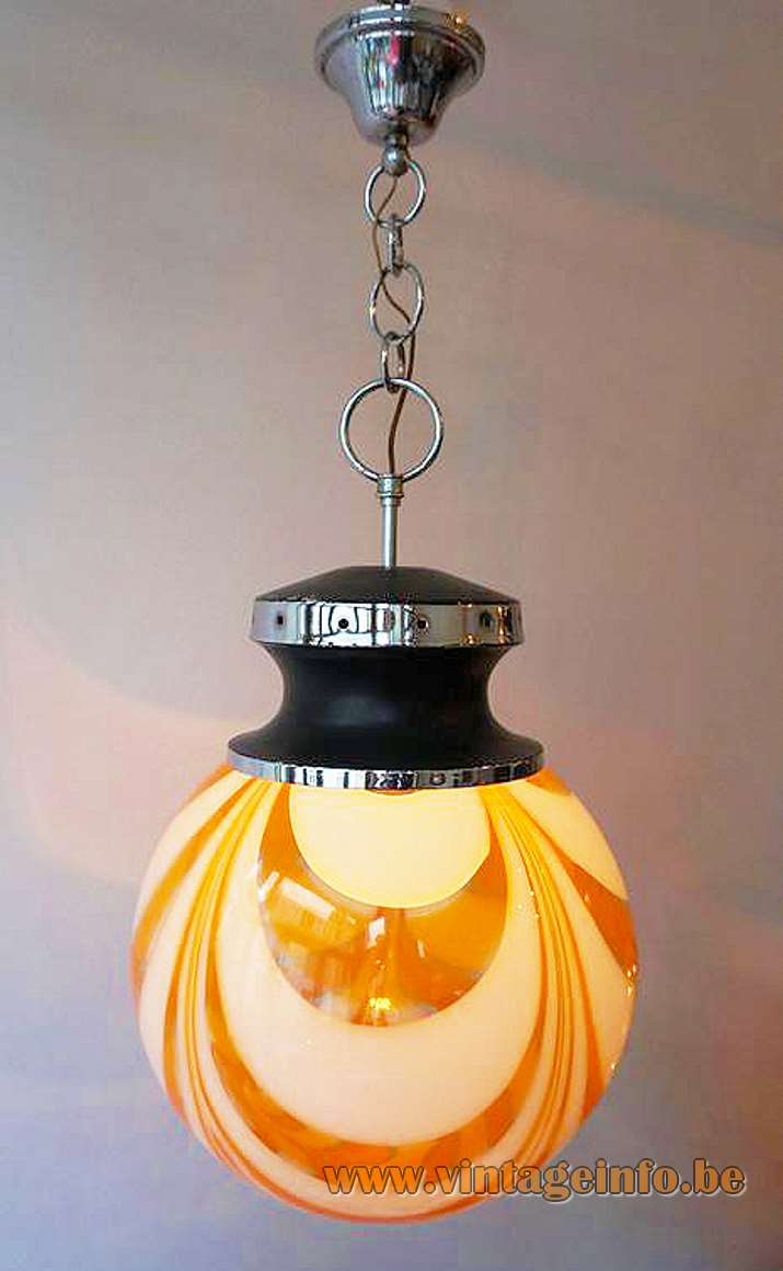 Glass Globe Srl.Murano Globe Pendant Lamp Vintage Info All About Vintage