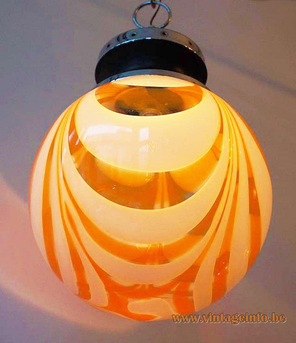 Murano Globe Pendant Lamp