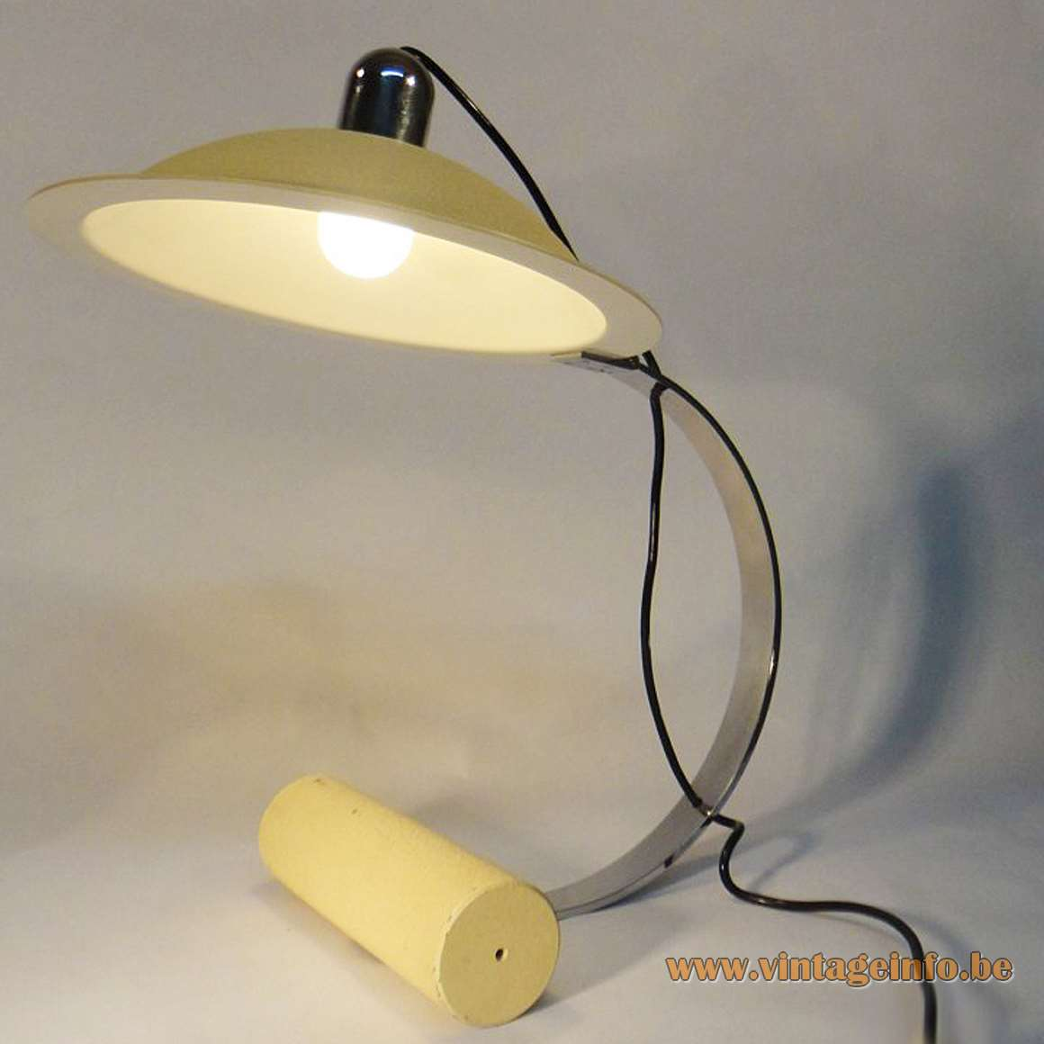 Stilnovo De Pas - D'Urbino - Lomazzi Desk Lamp - White Version