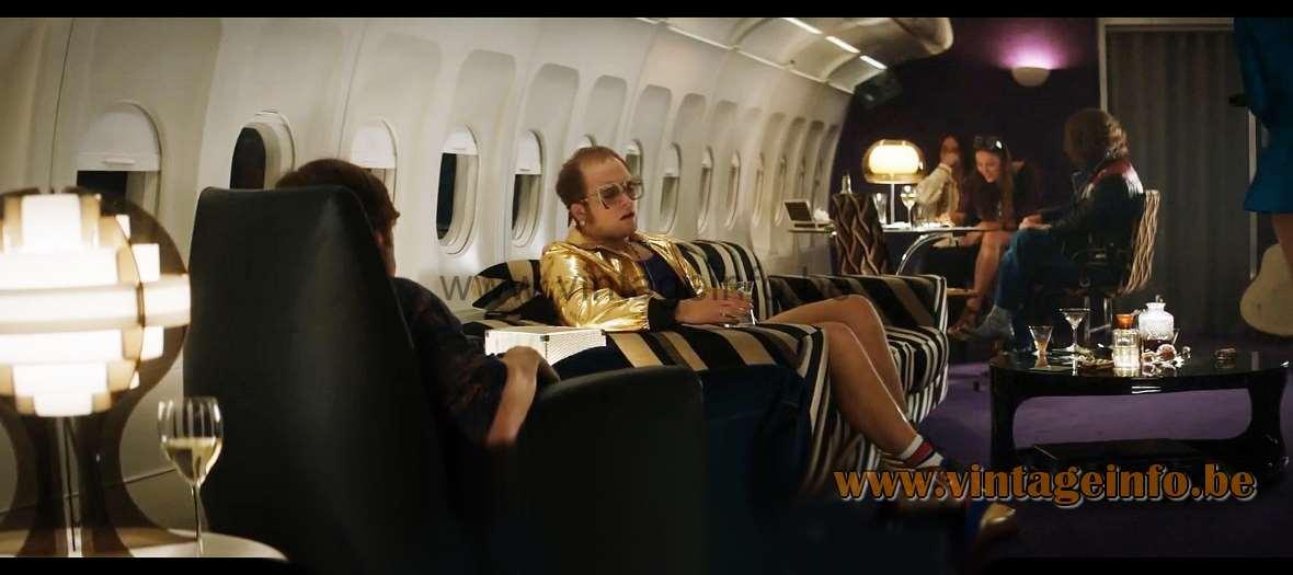 Strips table lamp used as a prop in the film Rocketman (2019) - Elton John